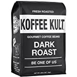 Koffee Kult Dark Roast Coffee Beans - Highest Quality Gourmet - Whole Bean Coffee - Fresh Roasted Coffee Beans, 32oz (Tamaño: 32oz)