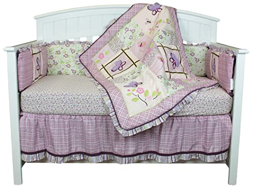 Belle Butterfly Dreams Baby Bedding