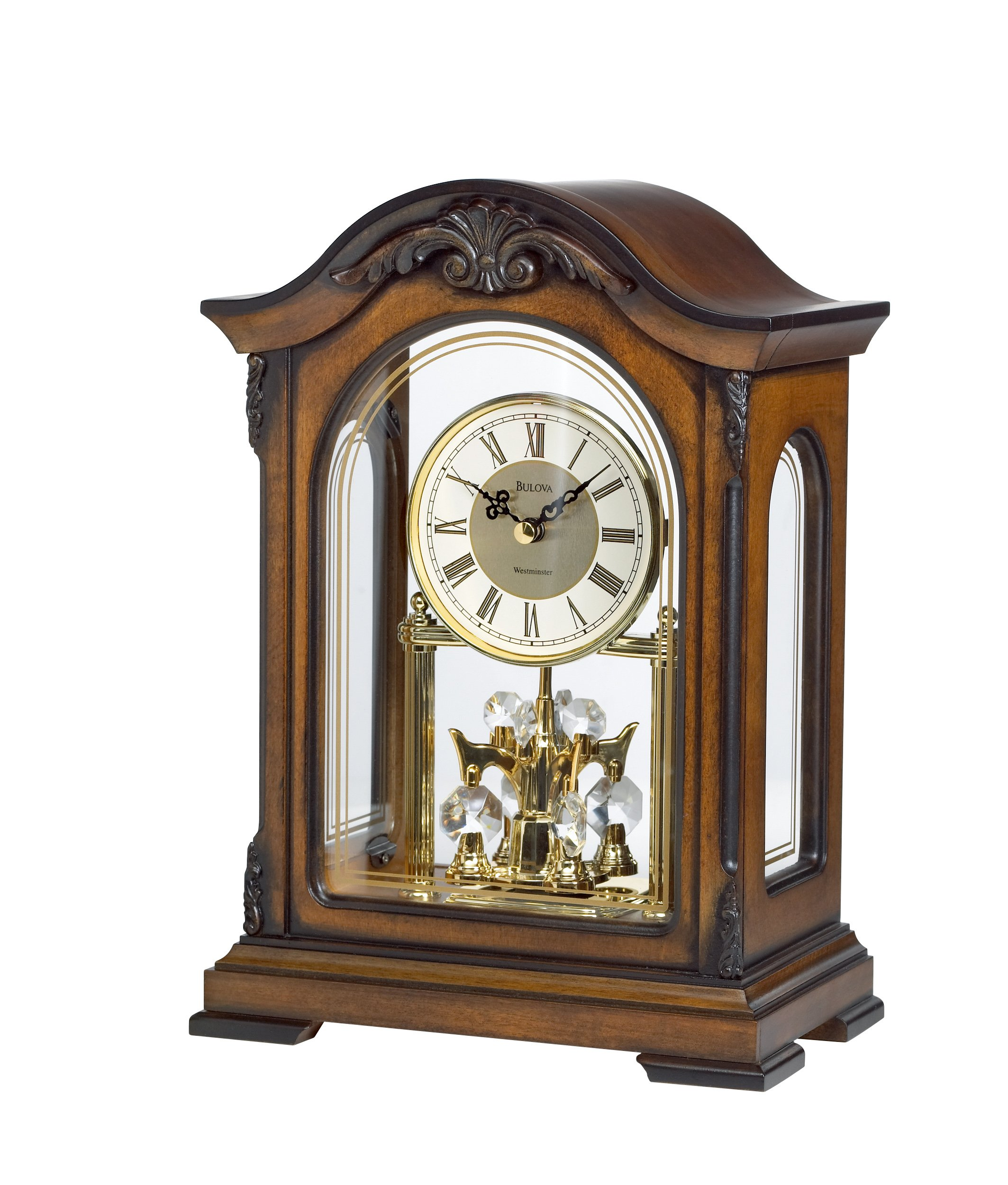 Bulova B1845 Durant Old World Clock image