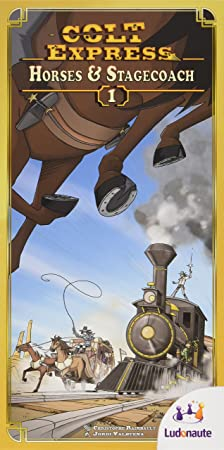 Colt Express: Horses and Stagecoach Expansion by Ludonaute