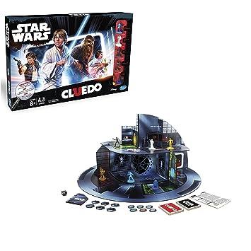 Hasbro Jeux b7688100–Star Wars Cluedo, famille Jeu