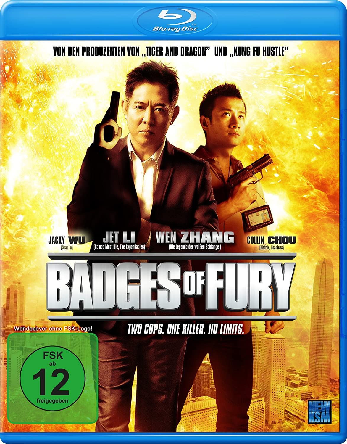 Badges of Fury, Blu-ray