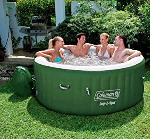Captivating Based On Amazon.com Ranking, One Of The Best Inflatable Hot Tubs Available  Now Is Colemanu0027s Lay Z Spa Inflatable Hot Tub. The Coleman Brand Is Known  For ...