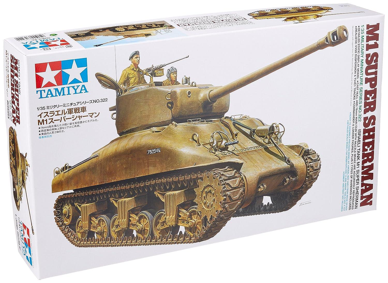 Tamiya M4a3e8 Sherman Tamiya Models m1 Super Sherman