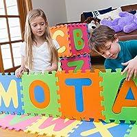 MOTA ABC-MAT Aplhabet Floor Play Foam Puzzle Mat