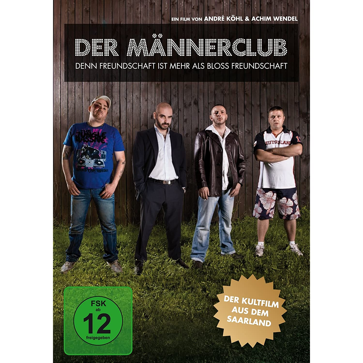 Der Mnnerclub auf DVD