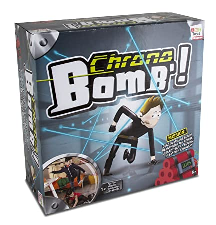 IMC Toys - 94765IM - Jeu d'action et de réflexe - Chrono Bomb - Version Import
