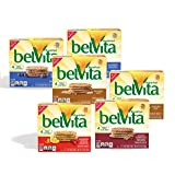 belVita Variety Pack Breakfast Biscuits (5 Count Box, 8.8 oz) (Pack of 6)