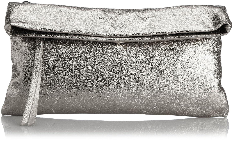 Amazon.co.jp: [ジャンニキアリーニ] GIANNI CHIARINI 牛革箔加工2つ折り2WAYクラッチバッグM 5235CKD NIKEL (NIKEL): シューズ&バッグ:通販