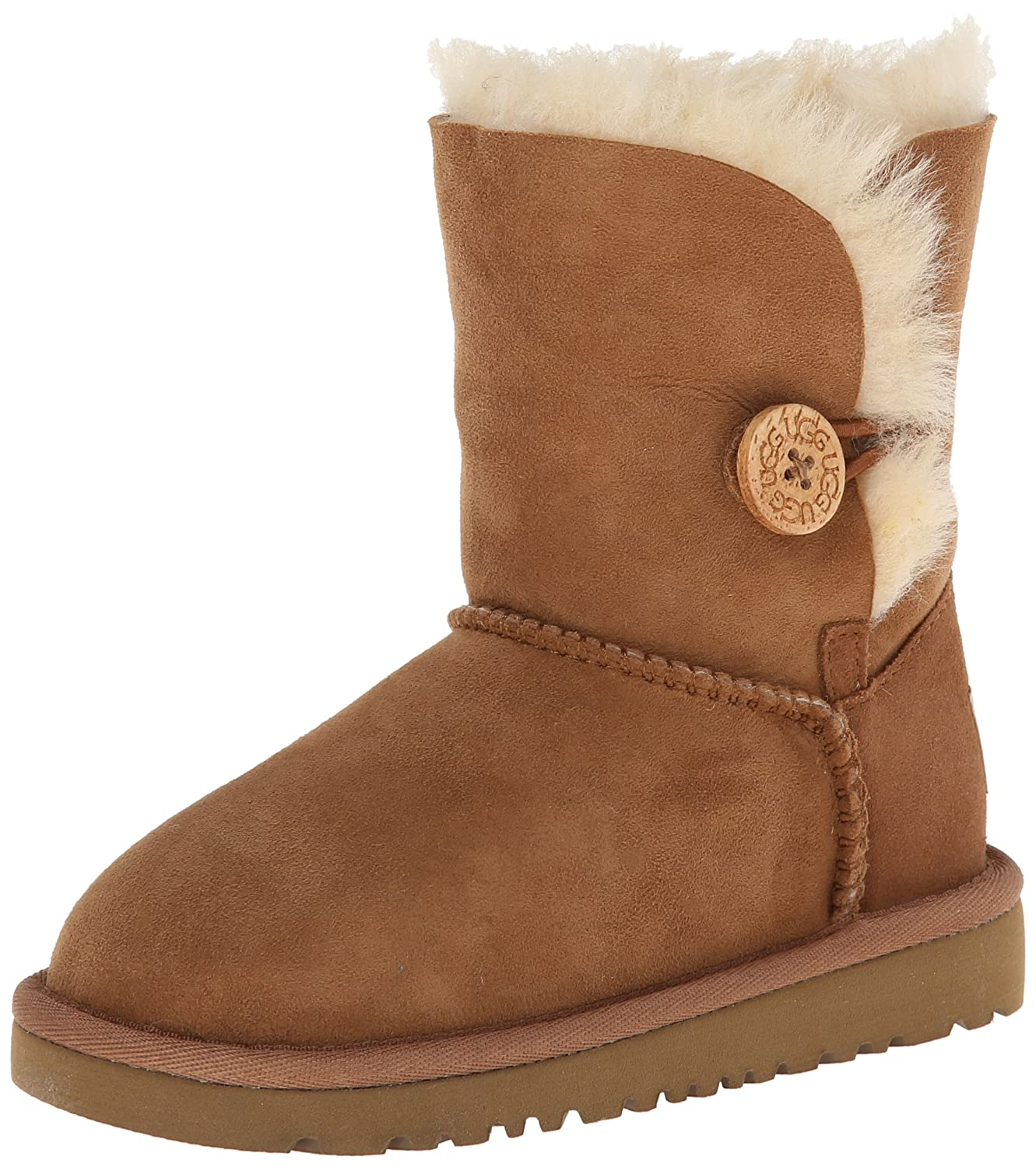 Ugg Bailey Button Boots Toddlers угги светло коричневые bailey button ugg ут 00004042