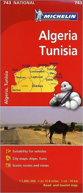 Michelin Map Africa Algeria Tunisia 743 (Maps/Country (Michelin))
