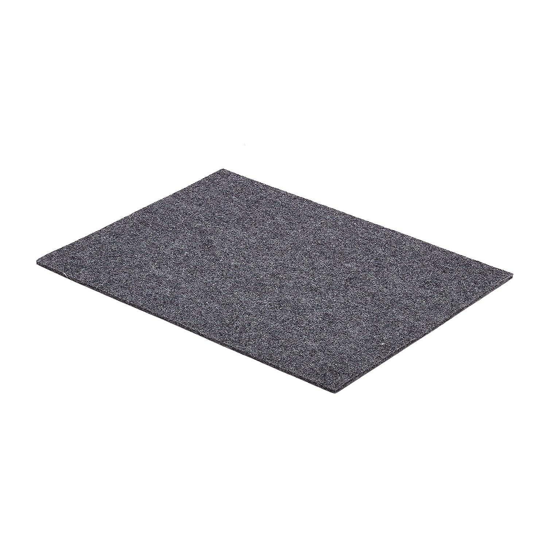 schreibtisch unterlage schreibunterlage schurwoll filz 45 x 75 cm anthrazit ebay. Black Bedroom Furniture Sets. Home Design Ideas