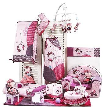 sauthon on line tour tour de lit collection hana pour lits lits 120x60 140x70 cm. Black Bedroom Furniture Sets. Home Design Ideas