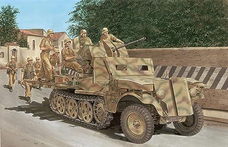Dragon - D6677 - Maquette - Flak 38 SDKFZ 10/5 - Echelle 1:35