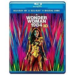Wonder Woman 1984 [3D Blu-ray + Blu-ray]
