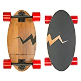 Eggboards Mini Longboard Skateboard made with Bamboo Wood. Its 19 inch Cruiser Skateboard Deck makes it the Smallest among Skateboards and Longboards