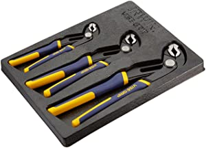 IRWIN Tools VISE-GRIP GrooveLock Pliers, V-Jaw, 3-Piece Set (2078710) (Color: Blue, Tamaño: 3-pack (8, 10, 12))