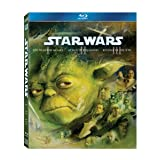 Star Wars: The Prequel Trilogy (Episode I: The Phantom Menace / Episode II: Attack of the Clones / Episode III: Revenge of the Sith) [Blu-ray] (Color: color)