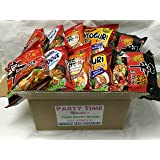 NEW Korean Hit Ramen Variety Pack ,Paldo, Nongshim shin ramyun,Cup Noodle Soup, Tempura Udon Instant Noodes Party Time Package. (Nongshim Party Time 10 packs Mix) (Tamaño: Nongshim Party Time Ramen 10 packs Mix)