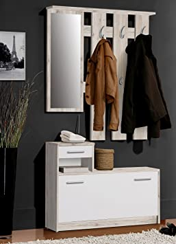 meuble chaussures avec porte manteau. Black Bedroom Furniture Sets. Home Design Ideas