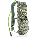 Savoon Outdoors Easy Fill Camo Hydration Backpack with 2L Bladder …