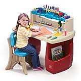 Step2 Deluxe Art Master Kids Desk (Color: Multi/None, Tamaño: 1 - Pack)