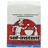 Saf Instant Yeast, 1 Pound Pouch (Tamaño: 16 Ounce)