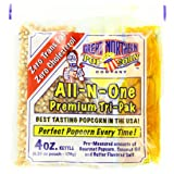 4100 Great Northern Popcorn 4 Ounce Premium Popcorn Portion Packs, Case of 24