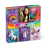 Craft-tastic – I Love Unicorns Kit – Craft Kit Includes 6 Unicorn-Themed Projects (Color: Basic pack)