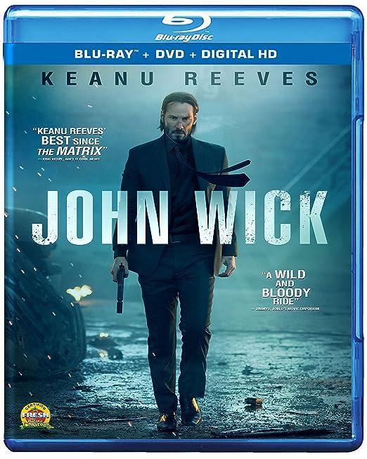 John Wick (Blu-ray/DVD/Digital HD) $8.99 at Amazon