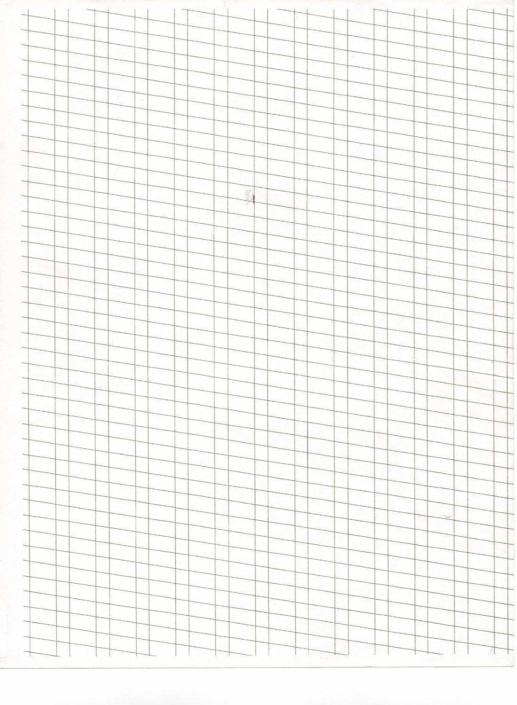 Calligraphy Practice Grid Calligraphy Practice Pad