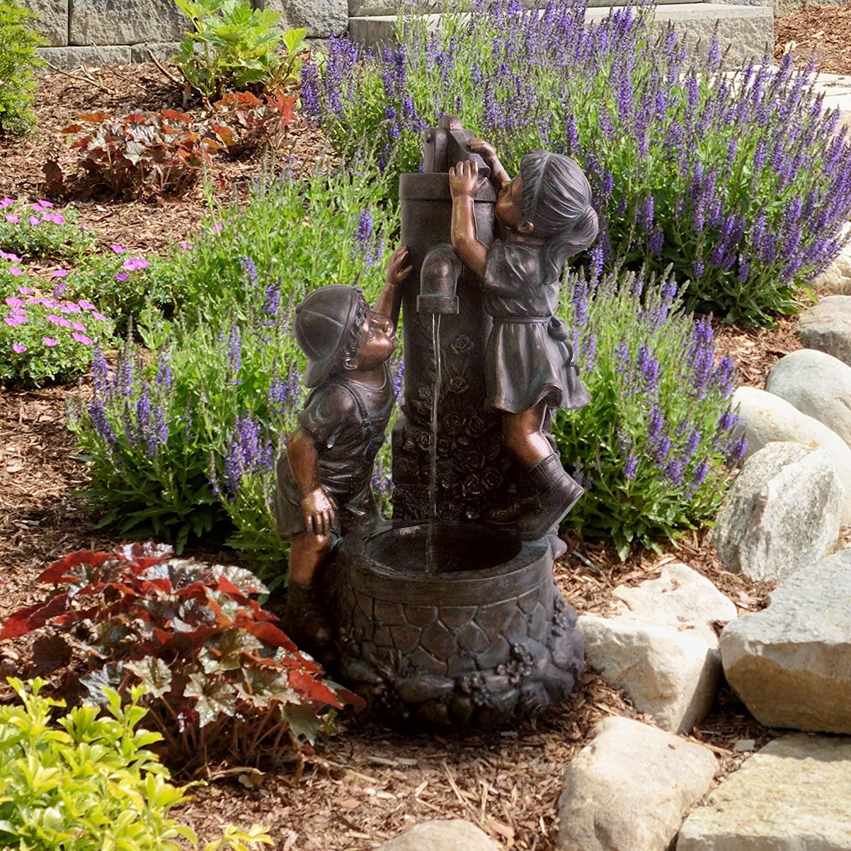 Children Sculpture Fountains Water Fountains with Children Statues