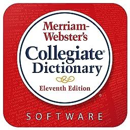 Merriam Webster\'s Collegiate Dictionary [Online Code]