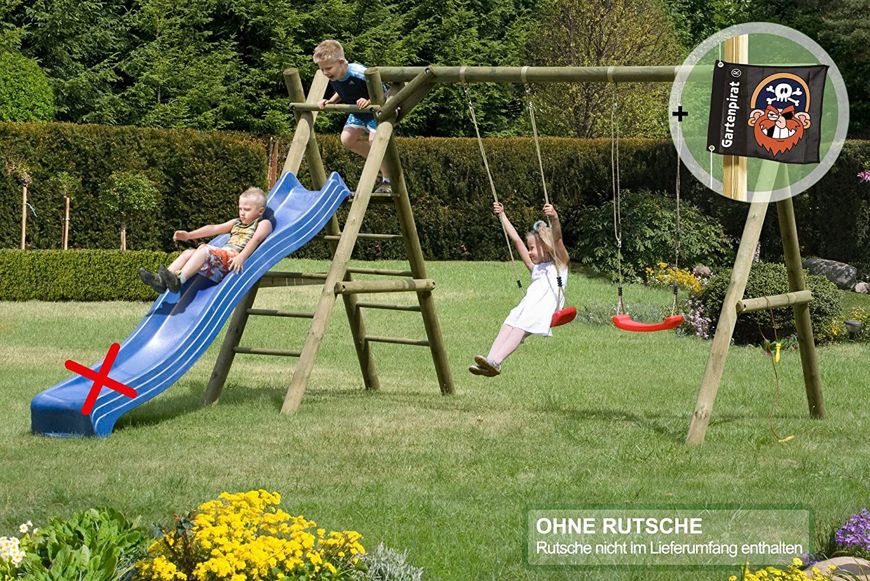 Gartenpirat Doppel - Schaukel Classic 4.2