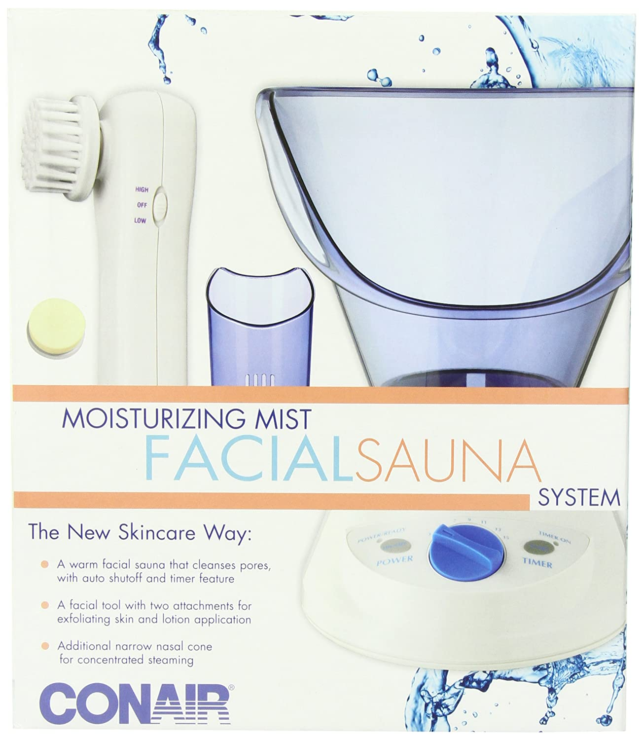 Conair Facial Sauna Systems with Timer