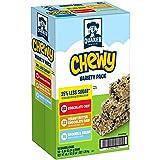 Quaker Chewy Granola Bars, 25% Less Sugar Variety Pack, 58 Bars