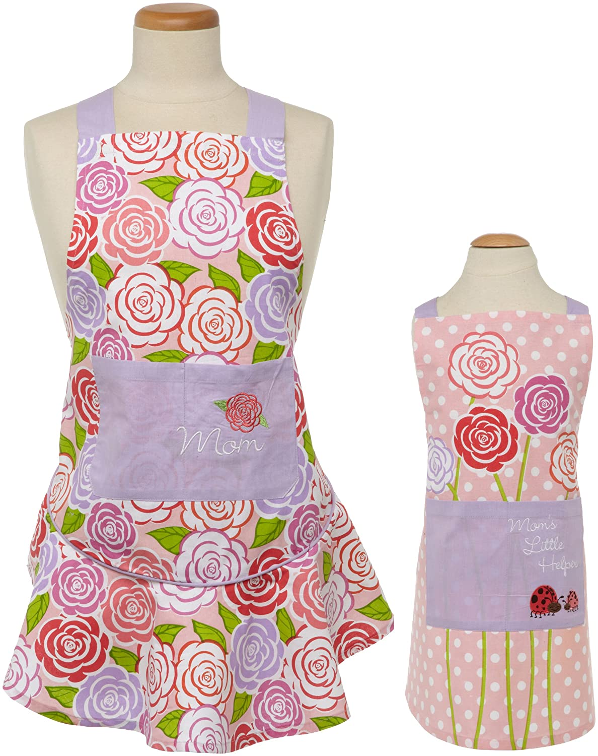Mother Daughter Matching Apron Set