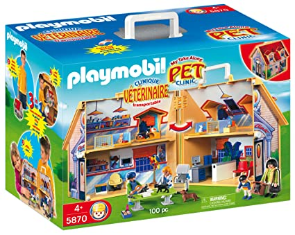 Playmobil Take Along Christmas House Playmobil my Take Along Pet