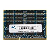 OWC 32GB (4 x 8 GB) 1867 MHZ DDR3 SO-DIMM PC3-14900 204 Pin CL11 Memory Upgrade, (OWC1867DDR3S32S) (Color: Blue, Tamaño: 32 GB (4 x 8 GB))
