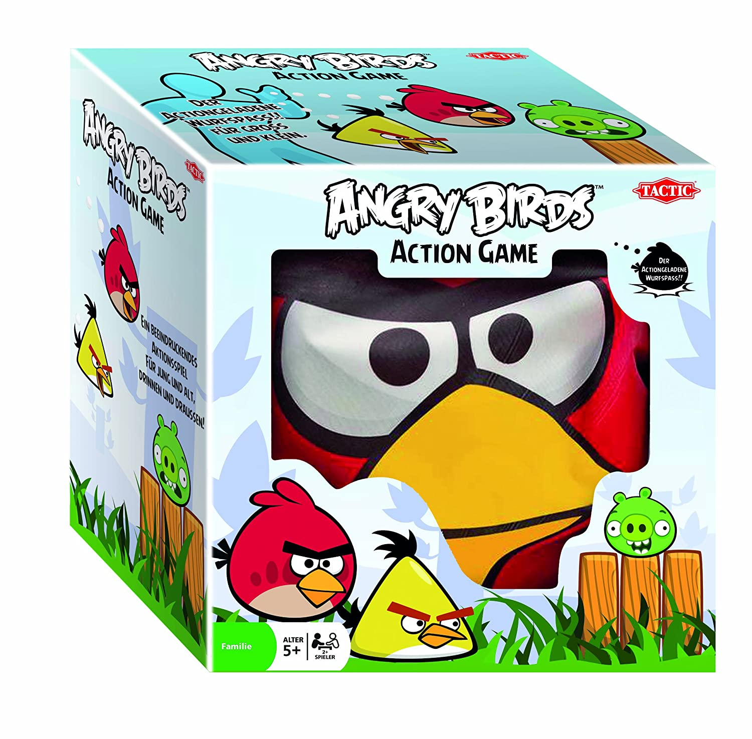 Tactic Games 40553 - Angry Birds Outdoor Action