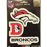 NFL Denver Broncos Team Decal, 3-Pack