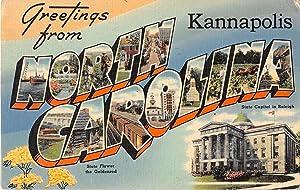 Kannapolis, North Carolina postcard