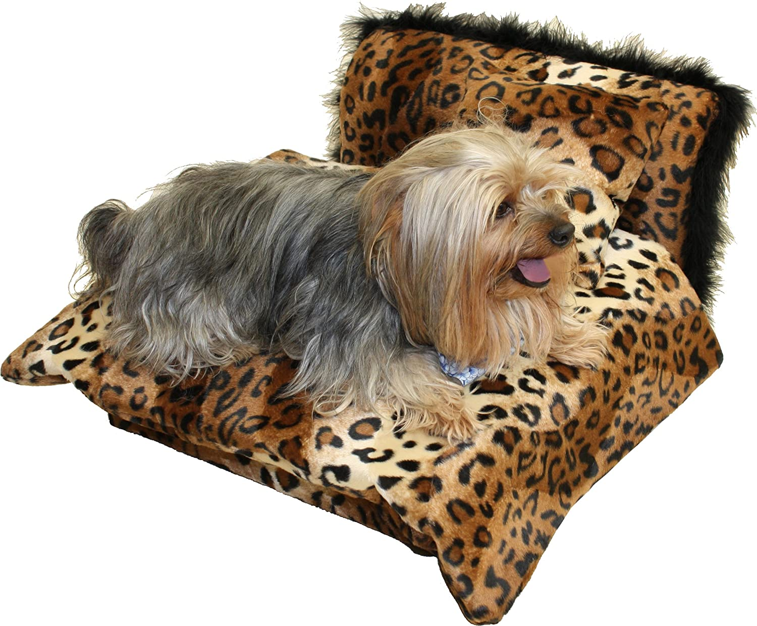 Fantasy Furniture Mini Bed Leopard Pet Bed