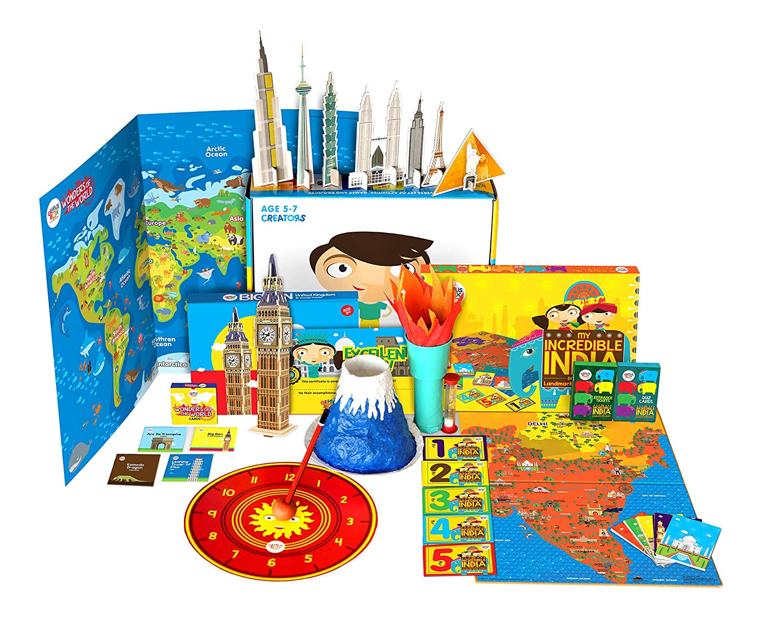 math worksheet : buy learning and education toys online at low prices in india  : Learning Activities For 6 Year Old Boy