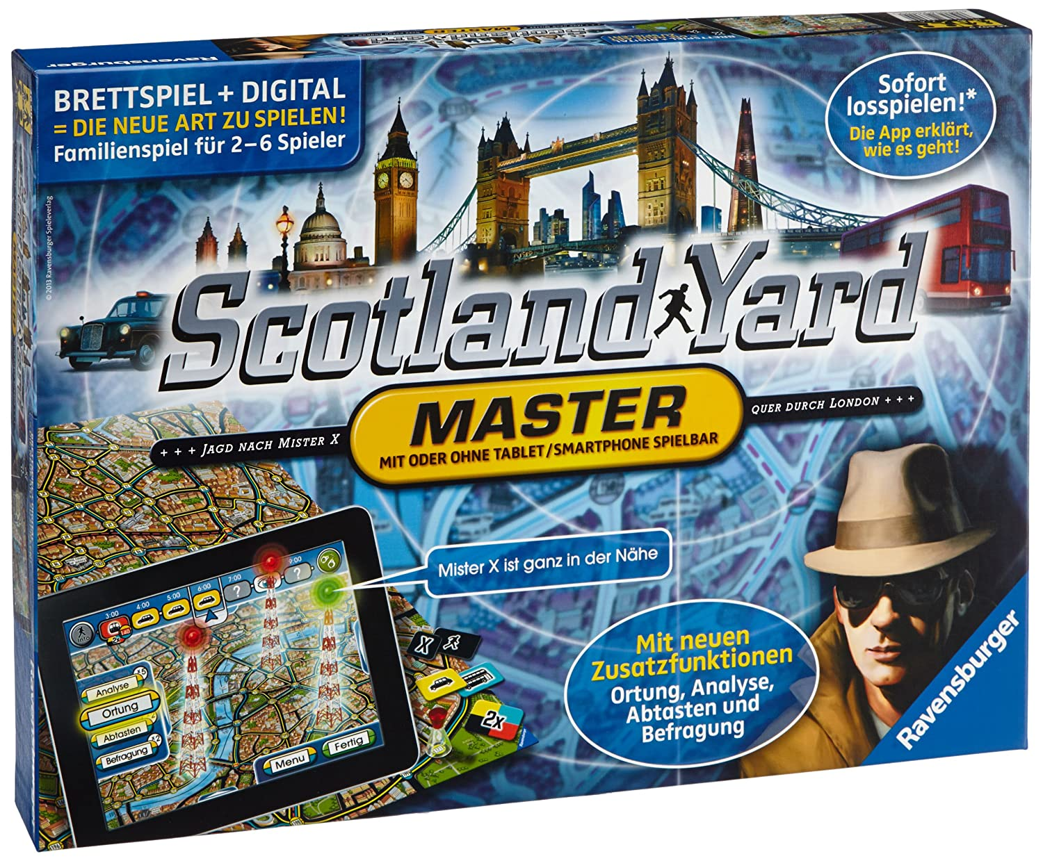 Ravensburger 26602 - Scotland Yard Master,
