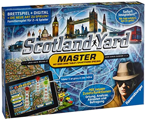 Ravensburger 26602 – Scotland Yard Master