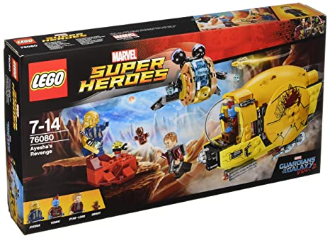 LEGO - 76080 - Jeux de Construction - Ravager Attack Marvel