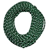 Nite Ize RR-04-50 Reflective Nylon Cord, Woven for High Strength, 50 Feet, Green