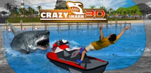 Crazy Shark 3D Sim by Tapinator