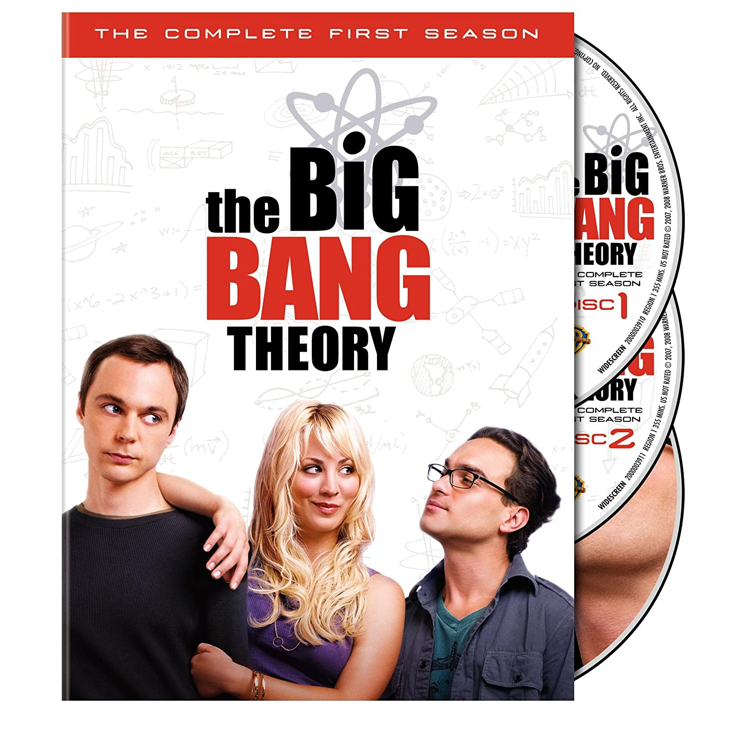 The Big Bang Theory - Temporada 1, 2 3, 4 HD - 720p - Unico!